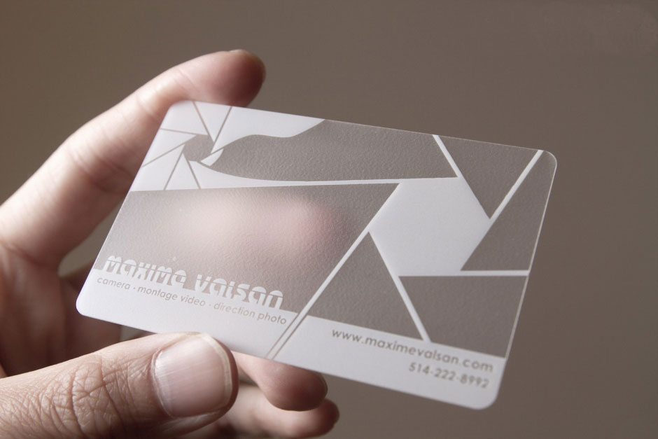 3-D Business Card Examples and Ideas - Graphic Design 1